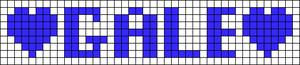 Alpha pattern #7831