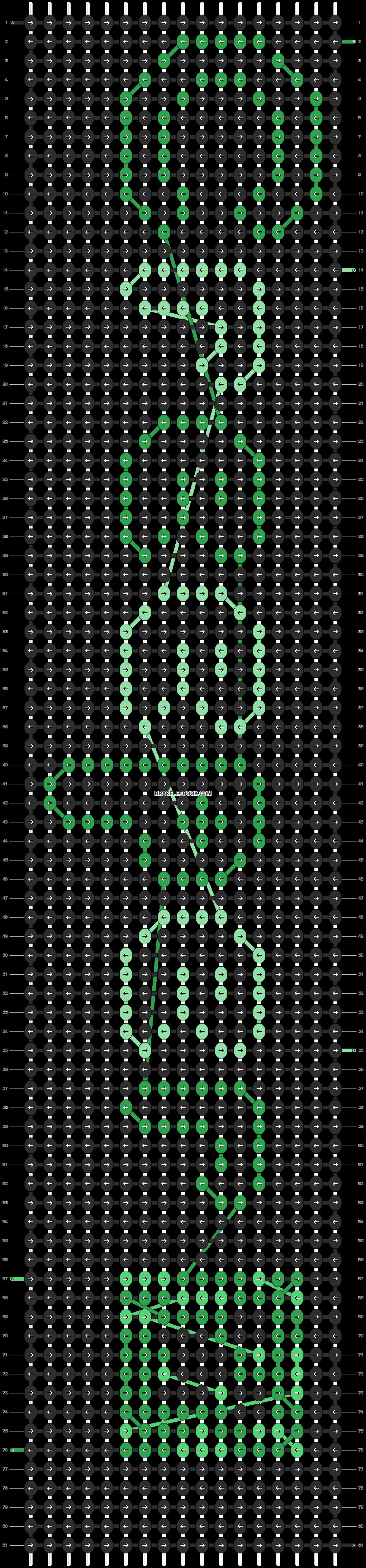 Alpha pattern #7833 pattern