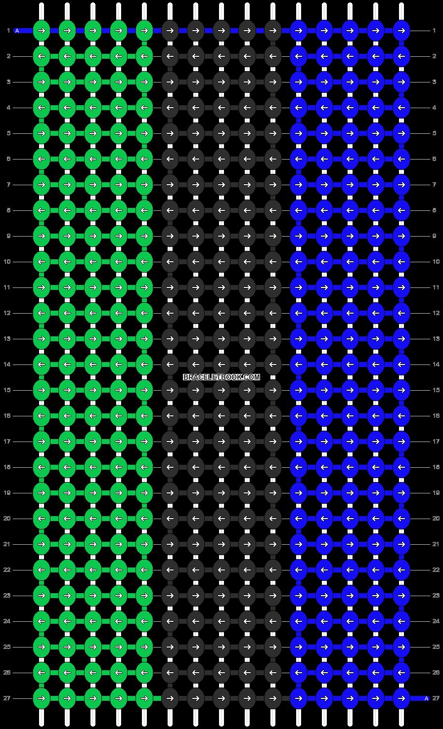 Alpha pattern #7847 pattern
