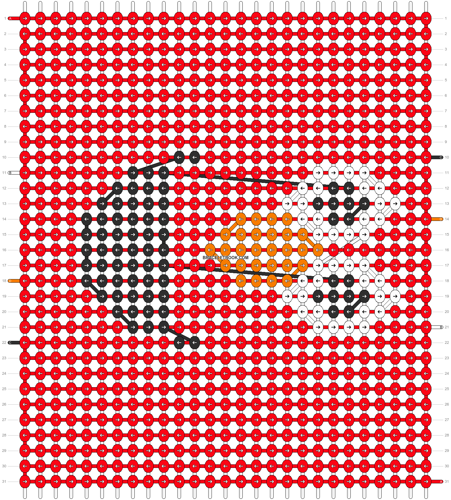 Alpha pattern #7854 pattern