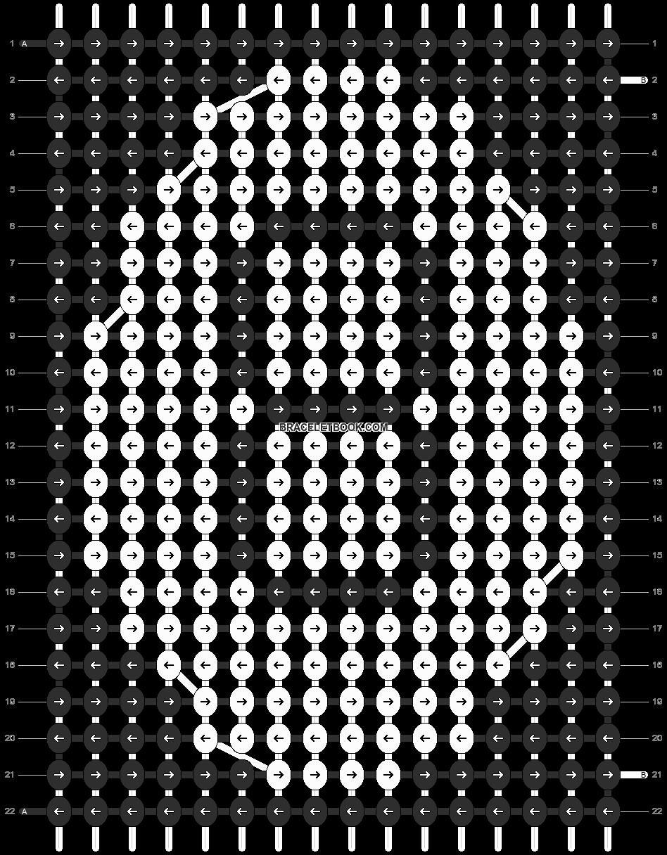 Alpha pattern #7855 pattern