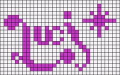 Alpha pattern #7864
