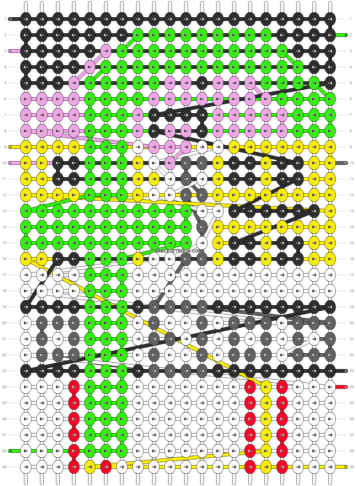 Alpha pattern #7868 pattern