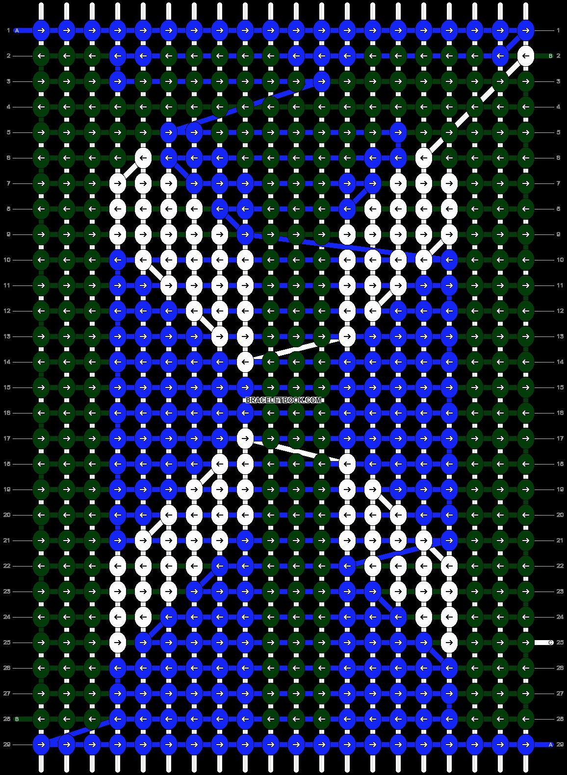 Alpha pattern #7869 pattern