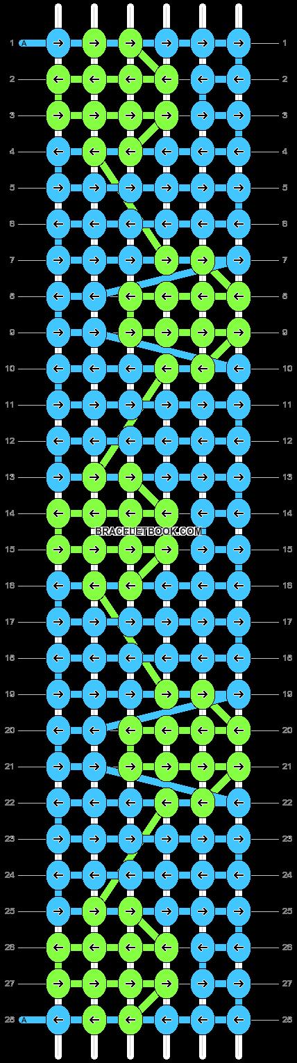 Alpha pattern #7870 pattern