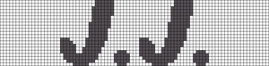 Alpha pattern #7875