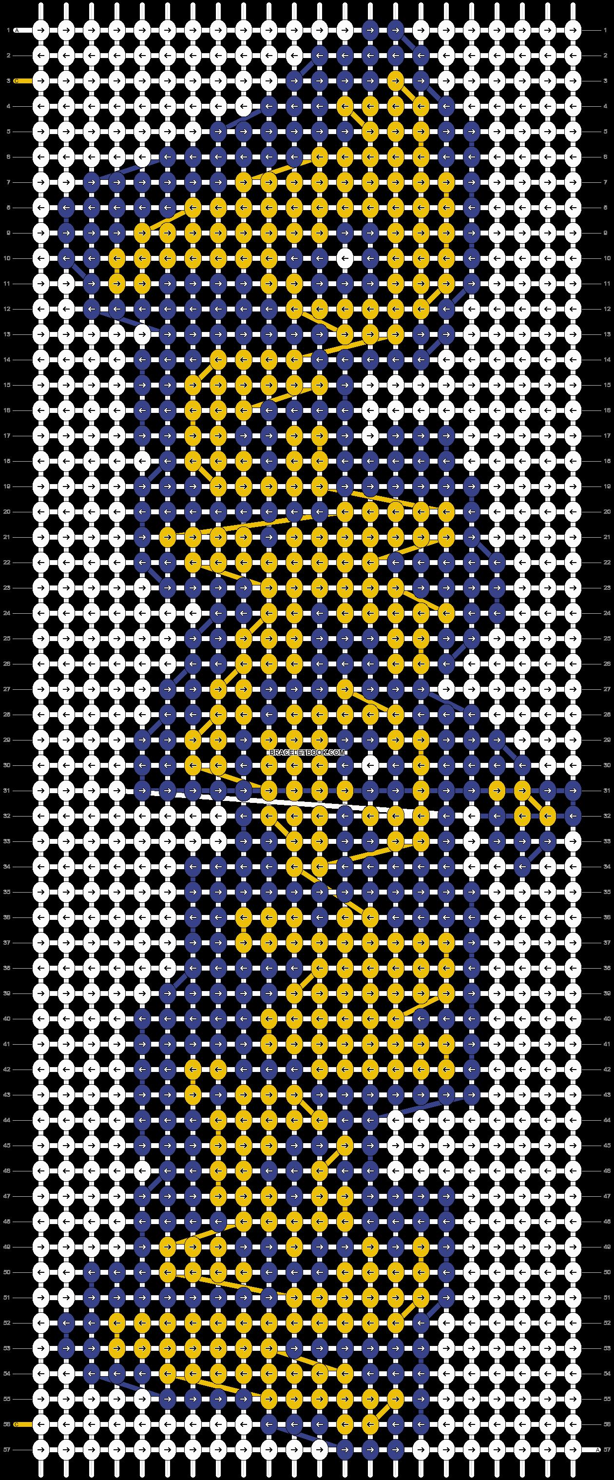 Alpha pattern #7876 pattern