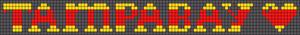 Alpha pattern #7877