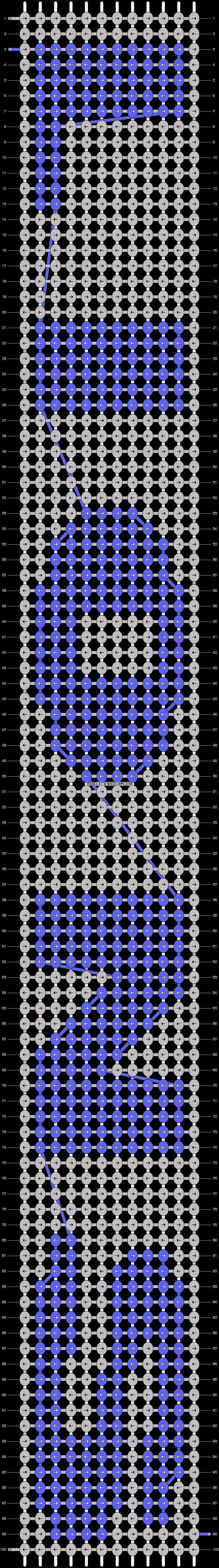 Alpha pattern #7878 pattern