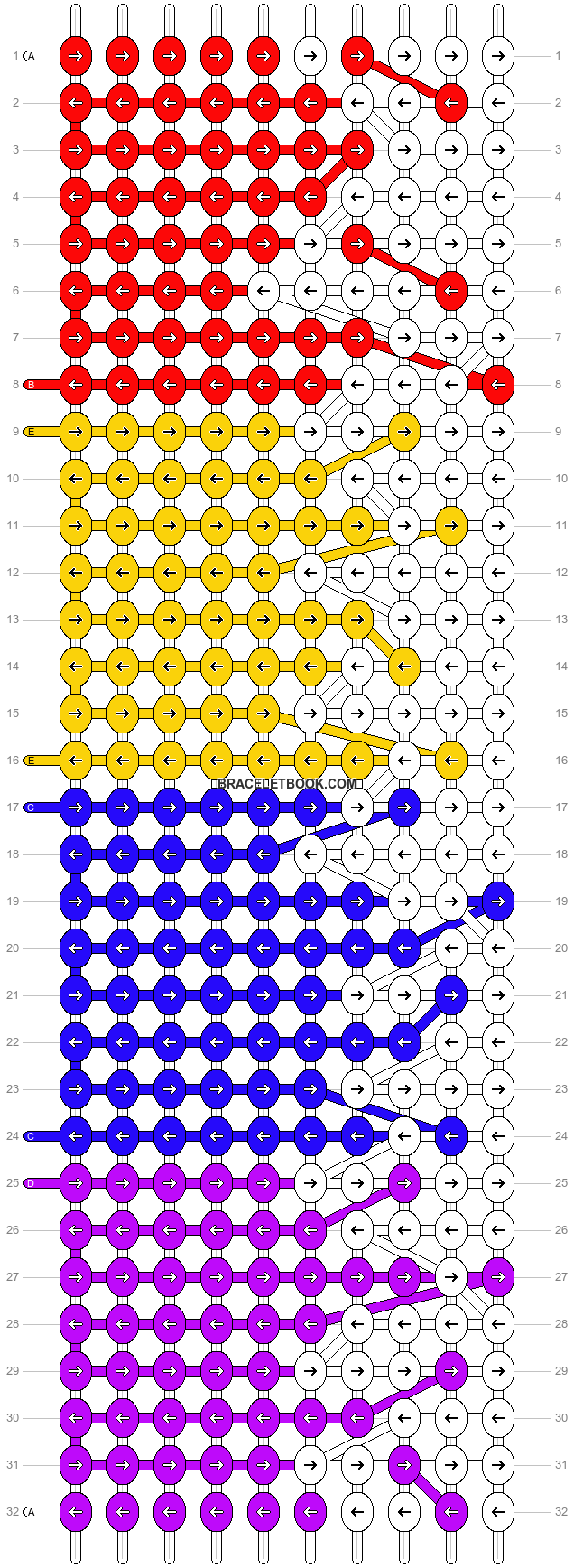 Alpha pattern #7879 pattern