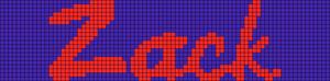 Alpha pattern #7883