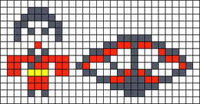 Alpha pattern #7887