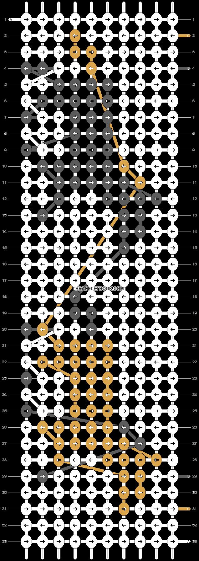 Alpha pattern #7888 pattern