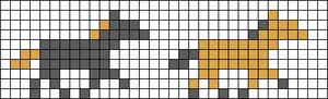 Alpha Friendship Bracelet Pattern #7888