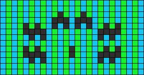 Alpha pattern #7890