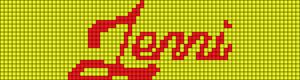 Alpha pattern #7906