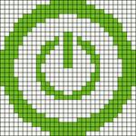 Alpha pattern #7910