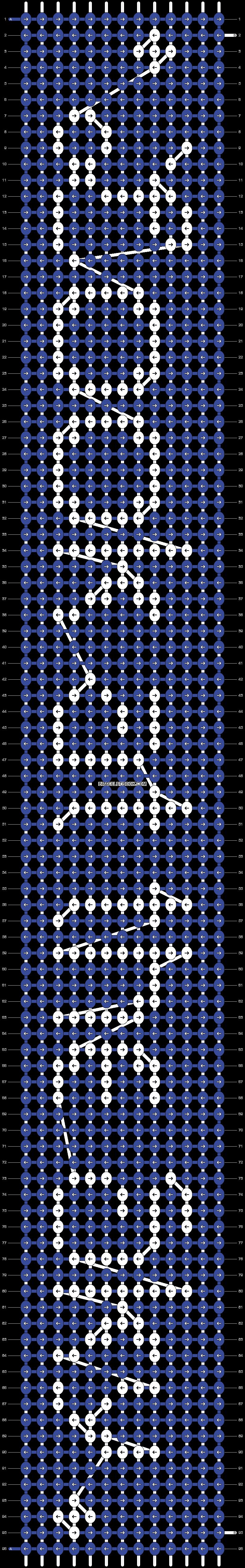 Alpha pattern #7912 pattern