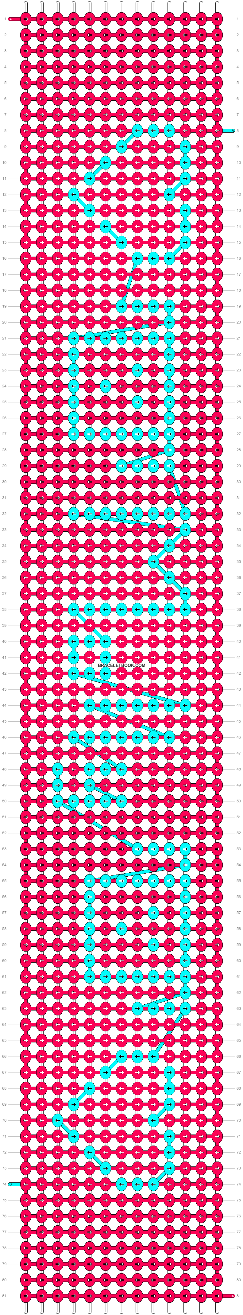 Alpha pattern #7916 pattern