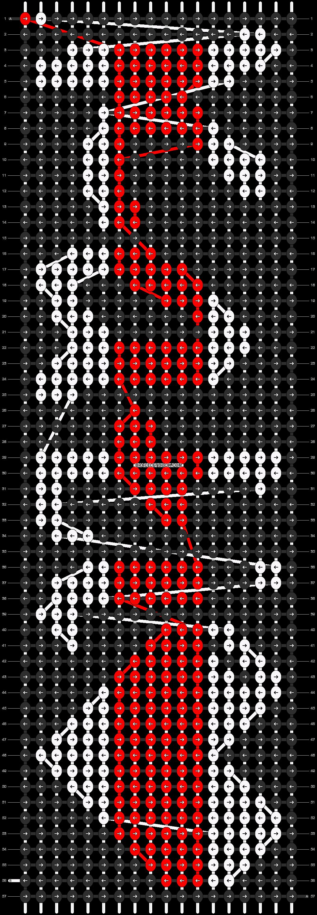Alpha pattern #7917 pattern