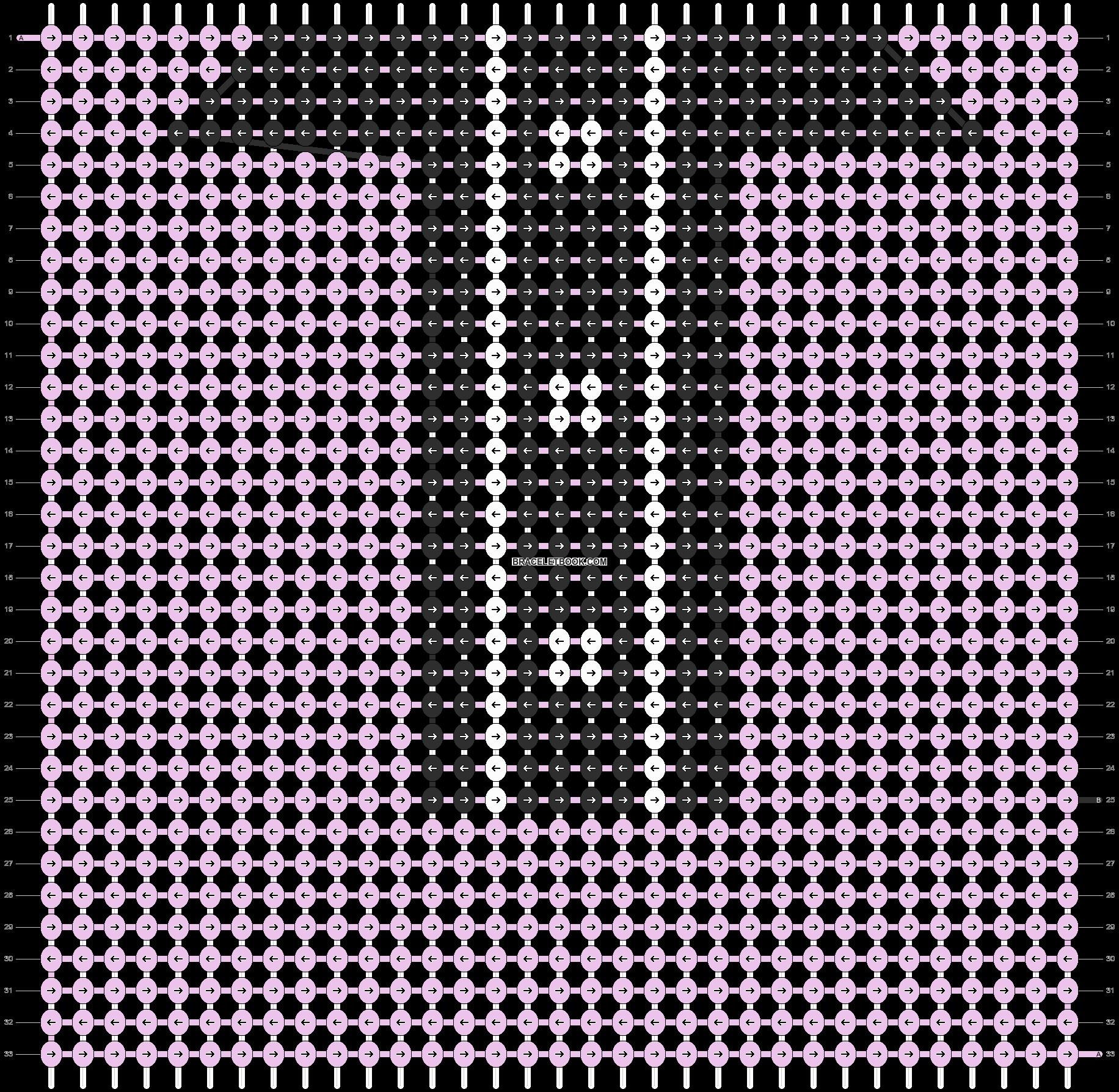 Alpha pattern #7927 pattern
