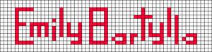 Alpha pattern #7931