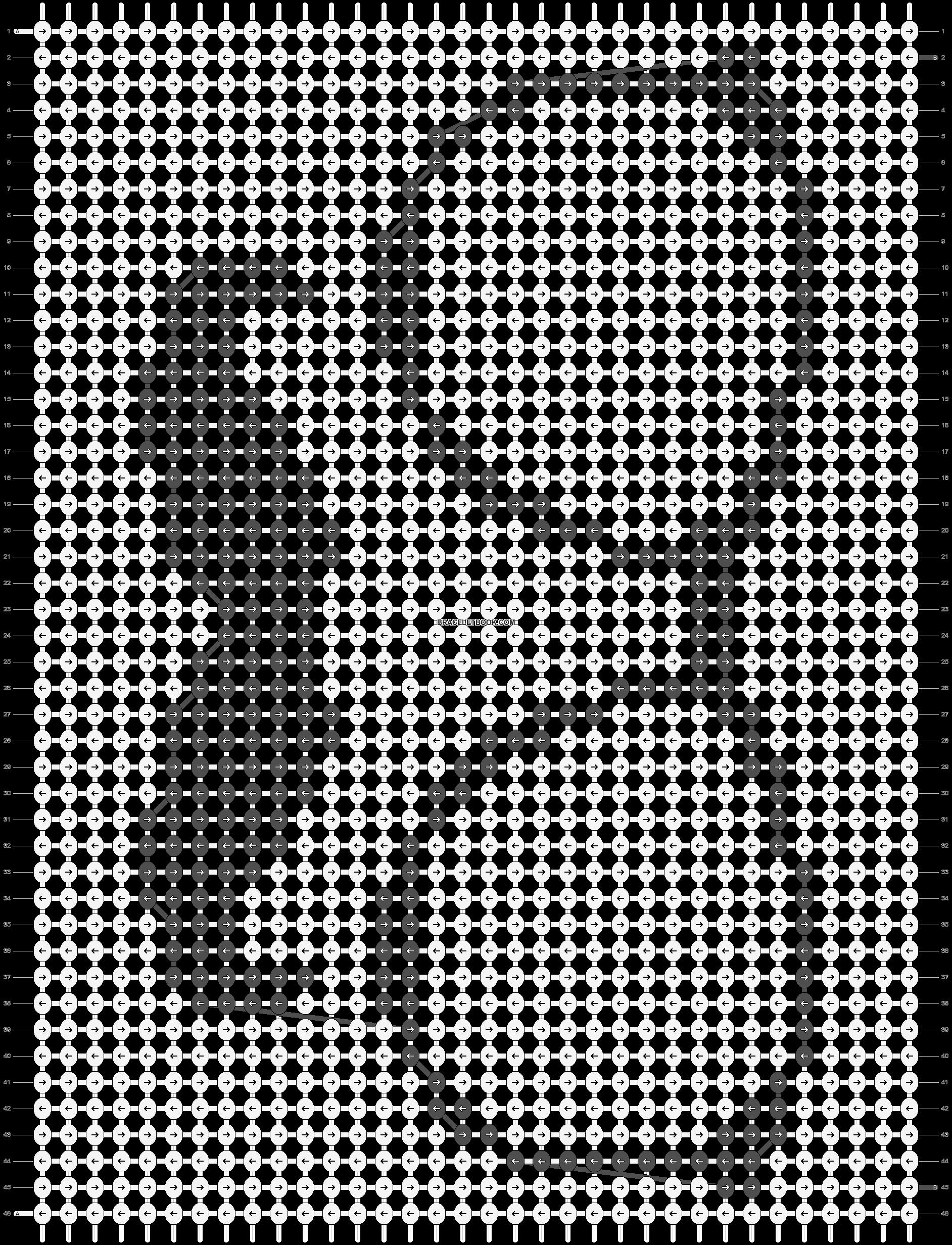 Alpha pattern #7945 pattern