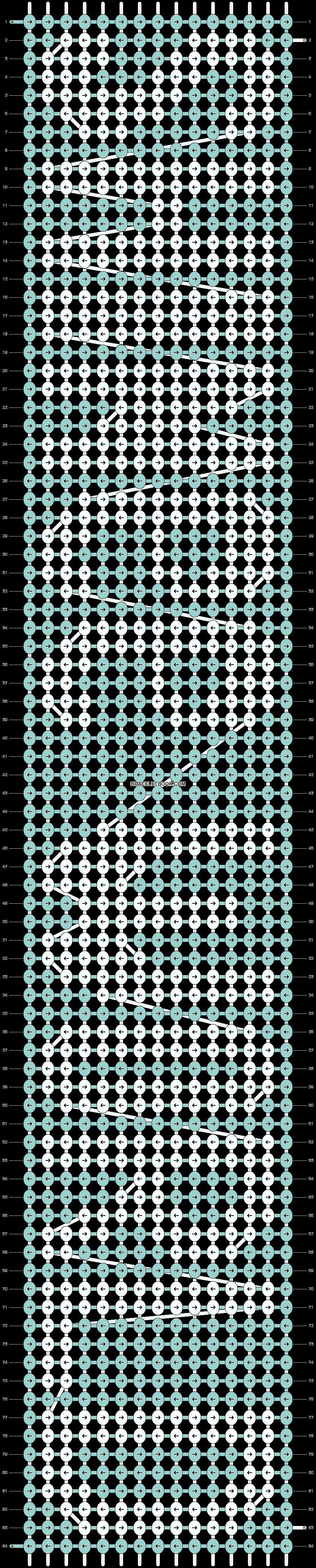Alpha pattern #7946 pattern