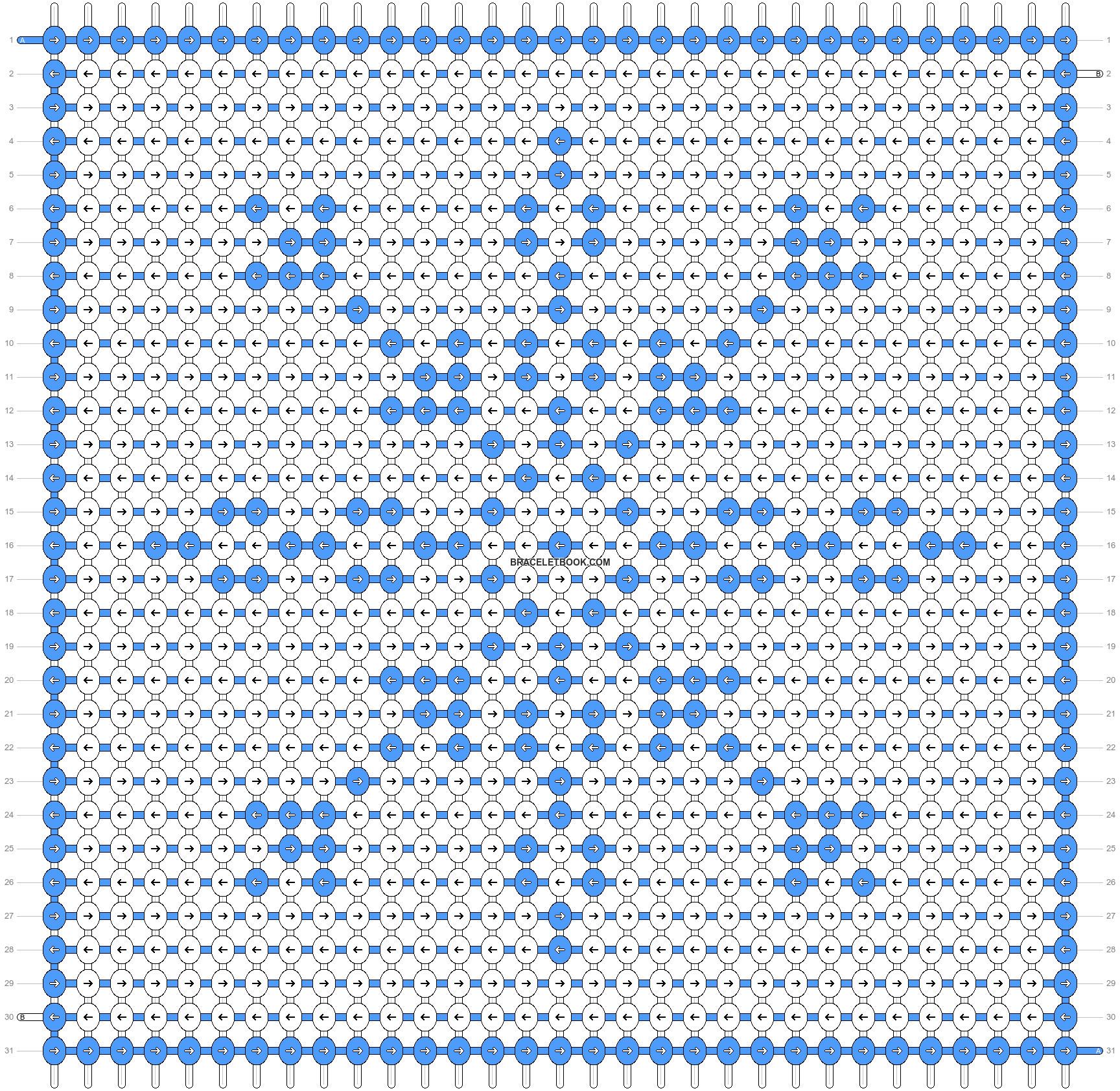 Alpha pattern #7949 pattern