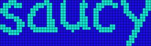 Alpha pattern #7952