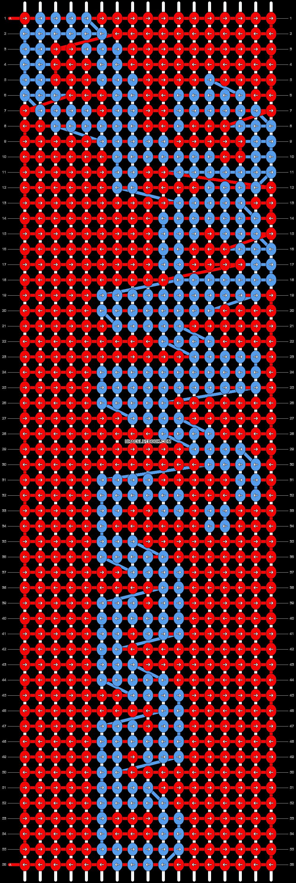 Alpha pattern #7953 pattern