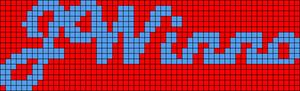 Alpha pattern #7953