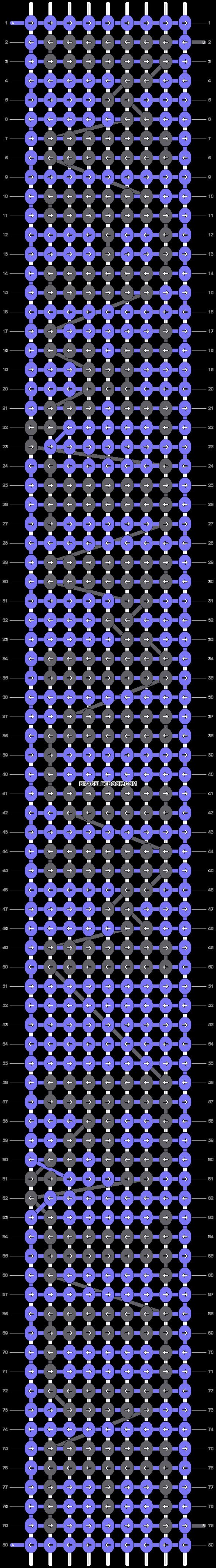 Alpha pattern #7965 pattern