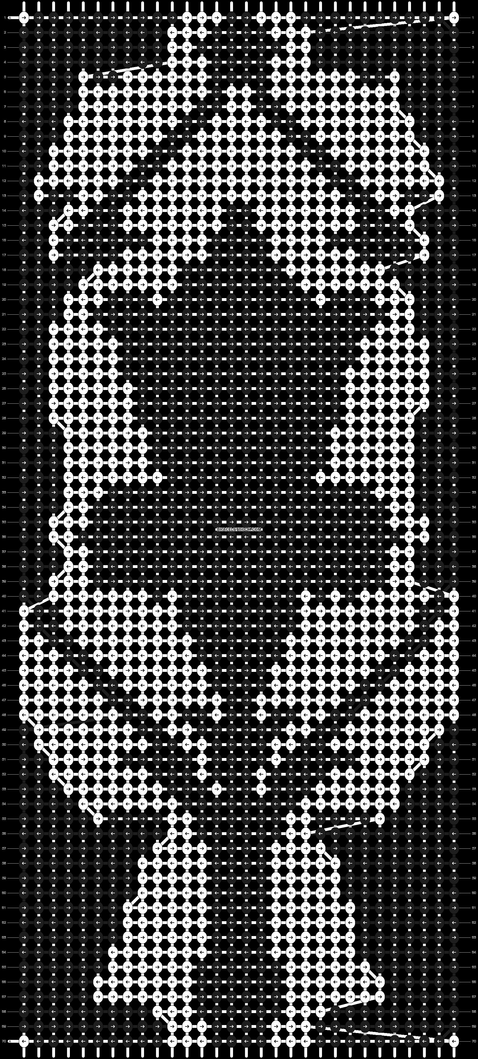 Alpha pattern #7967 pattern
