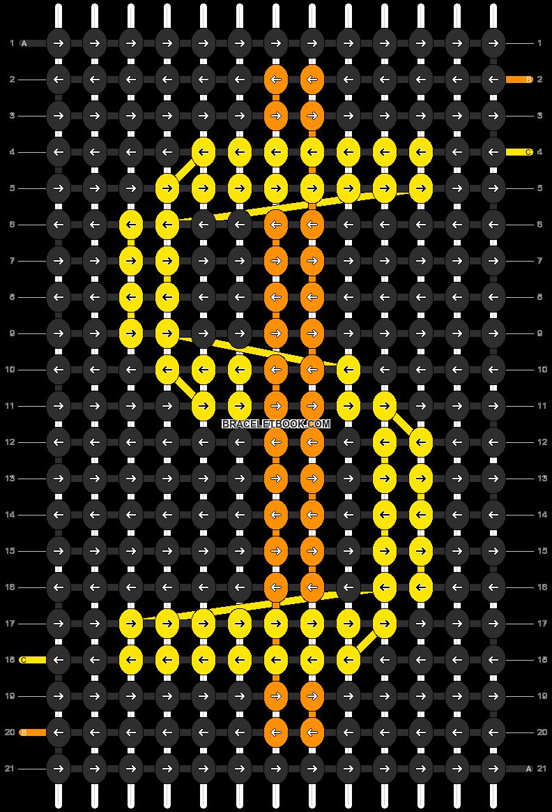 Alpha pattern #7968 pattern