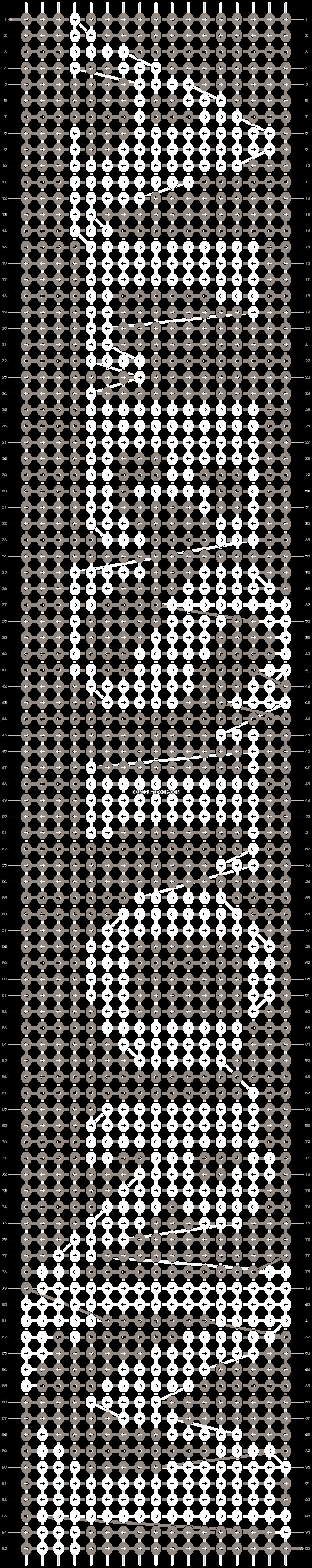 Alpha pattern #7971 pattern