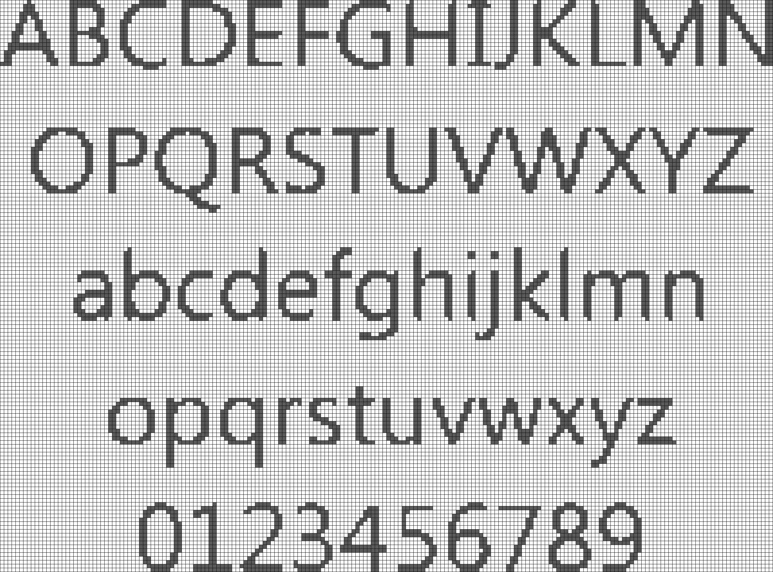 Alpha pattern #7974 preview