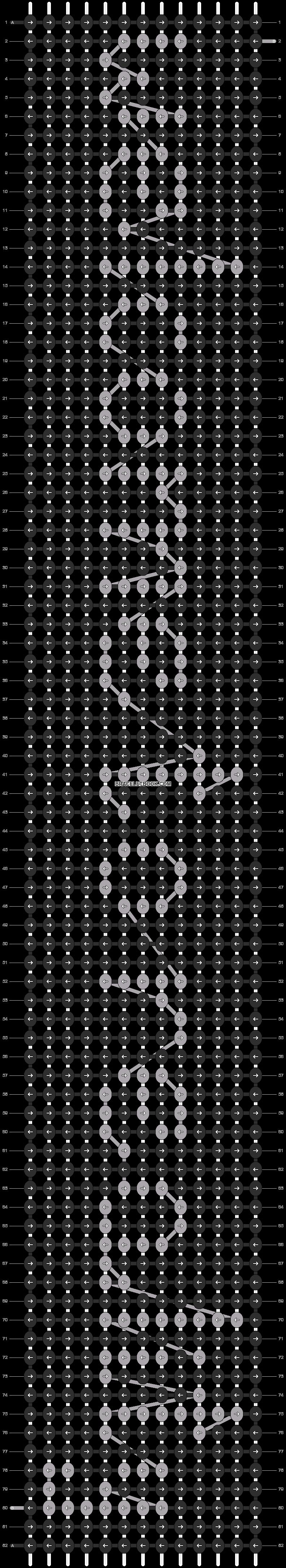 Alpha pattern #7986 pattern