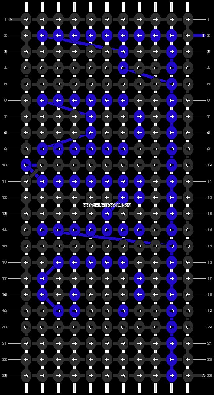 Alpha pattern #7990 pattern