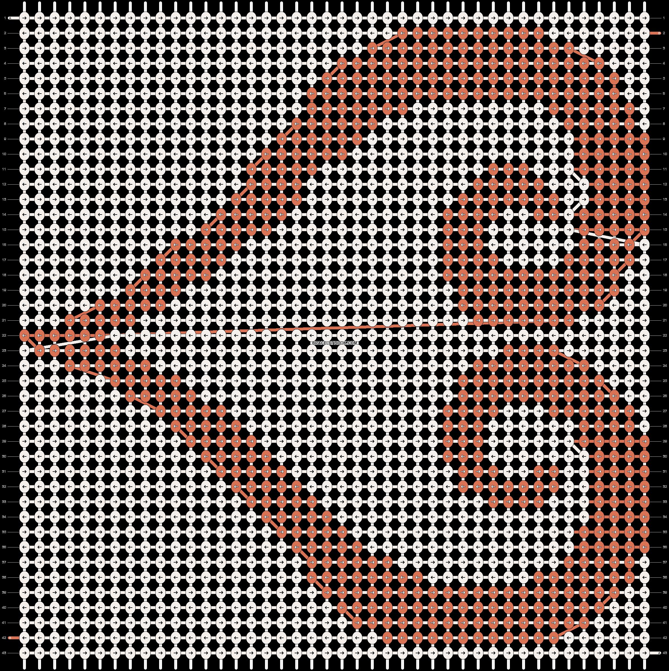 Alpha pattern #7992 pattern