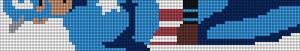 Alpha Friendship Bracelet Pattern #7996