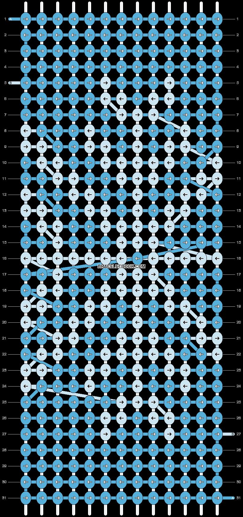 Alpha pattern #8004 pattern
