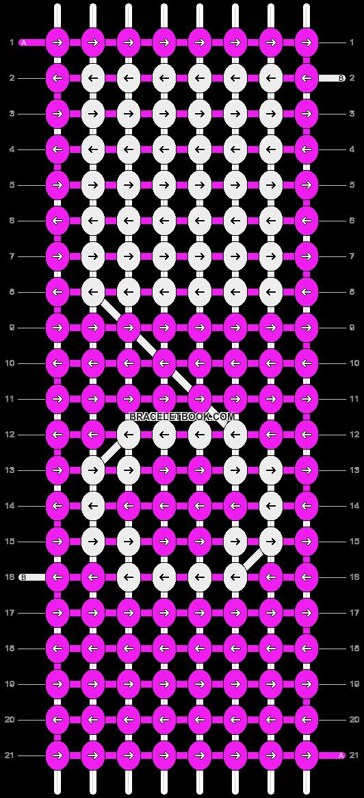 Alpha pattern #8007 pattern