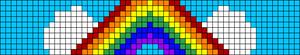 Alpha pattern #8016