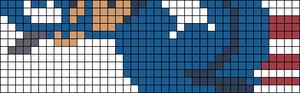 Alpha pattern #8019