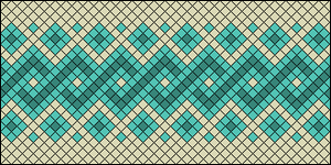 Normal Friendship Bracelet Pattern #8031