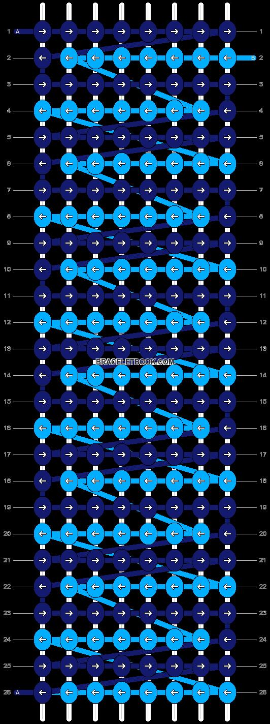 Alpha pattern #8046 pattern