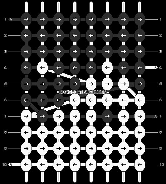 Alpha pattern #8051 pattern