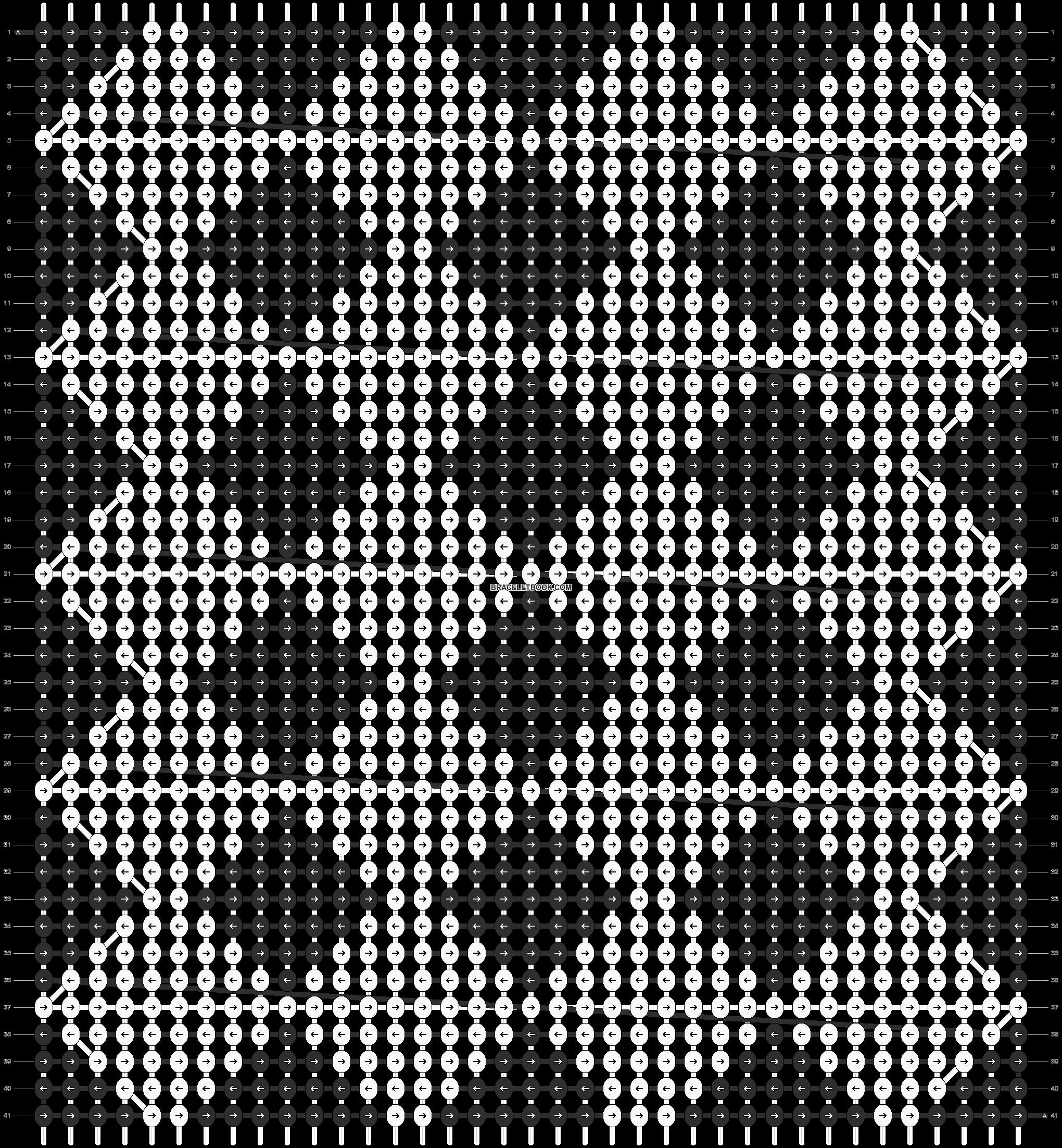 Alpha pattern #8053 pattern