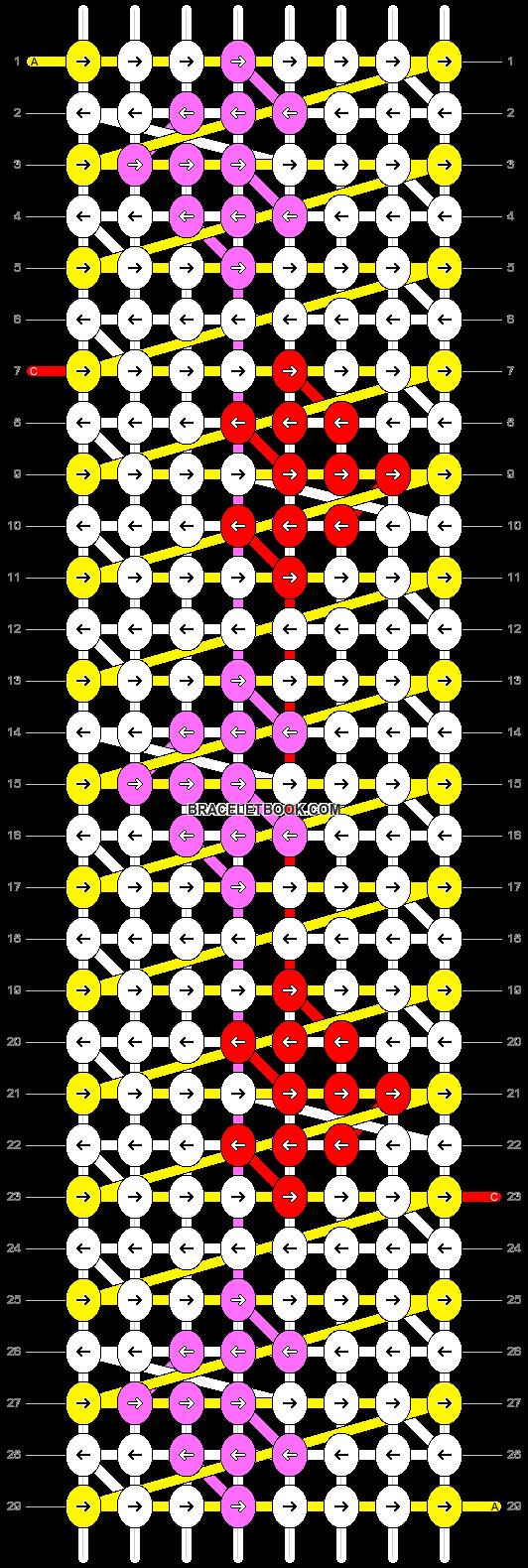 Alpha pattern #8055 pattern